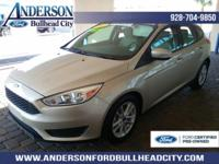New Price! Certified. White Gold Metallic 2017 Ford