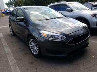CARFAX One-Owner. Clean CARFAX. Gray 2017 Ford Focus SE