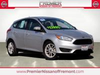 Silver 2017 Ford Focus SE FWD 6 Speed Automatic with