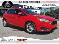 **LOW MILES* One-Owner, Clean CARFAX, RACE RED ON BLACK