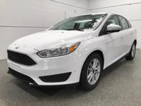 Options:  2017 Ford Focus Se|White|Recent Arrival!