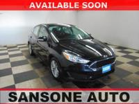 Shadow Black 2017 Ford Focus SE FWD 6-Speed Automatic