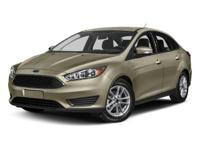CARFAX One-Owner. Clean CARFAX. Black 2017 Ford Focus