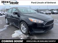 2017 Ford Focus SE Black 2.0L 4-Cylinder DGI