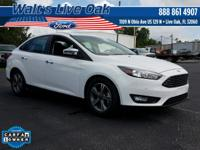 New Price! CARFAX One-Owner. 2017 Focus Ford Clean