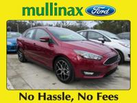 2017 Ford Focus SEL 36/26 Highway/City MPG At Mullinax