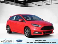 Scores 30 Highway MPG and 22 City MPG! This Ford Focus