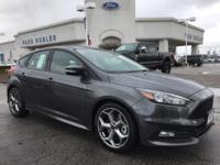 Options:  2017 Ford Focus St|Gray|Wheels: 18 Rado Gray