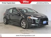 CARFAX One-Owner! 2017 Ford Focus ST in Shadow Black!