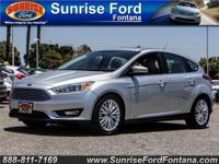 Our 2017 Ford Focus Titanium Hatchback stands out from