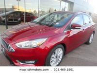 Boasts 38 Highway MPG and 26 City MPG! This Ford Focus