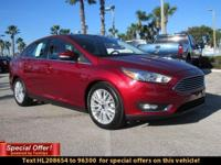 It only takes a glance to see the 2017 Ford Focus'