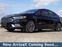 2017 Ford Fusion Energi Titanium in Shadow Black, This
