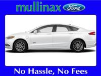 Options:  2017 Ford Fusion Energi |At Mullinax There