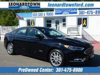 Carfax One-Owner Vehicle. This Ford Fusion Energi