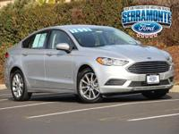 Options:  2017 Ford Fusion Hybrid Se|Silver|New Price!