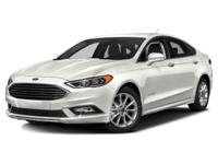 2017 Ford Fusion Hybrid SE FWD Recent Arrival! White