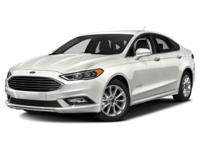 Recent Arrival! Clean CARFAX.White 2017 Ford Fusion