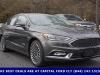2017 Ford Fusion Hybrid. I4 Hybrid. Steady as she goes.