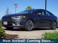 2017 Ford Fusion Hybrid Titanium in Magnetic, This