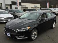 2017 Ford Fusion Platinum AWD 6-Speed Automatic