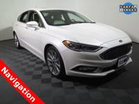 2017 Ford Fusion Platinum with a 2.0L EcoBoost Engine.