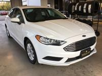 Fusion S / 1-OWNER, 4D Sedan, 2.5L iVCT, 6-Speed
