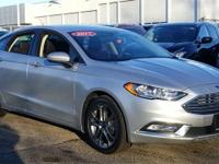 2017 Ford Fusion S CARFAX One-Owner. Remaining Factory