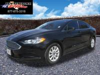 6-Speed Automatic. Black Beauty! Ease into a