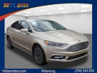 This 2017 Ford Fusion SE is a real winner with features