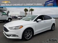 New Price! This 2017 Ford Fusion SE in Oxford White