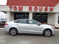 Ingot Silver 2017 Ford Fusion SE FWD 6-Speed Automatic