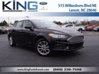 For a smoother ride, opt for this 2017 Ford Fusion SE