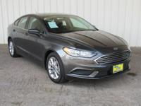 6-Speed Automatic. Magnetic 2017 Ford Fusion SE FWD