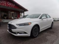 Options:  2017 Ford Fusion Heated Leather Seats!