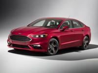 Black 2017 Ford Fusion SE AWD 6-Speed Automatic