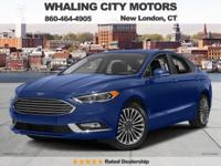 2017 Ford Fusion SE 29/20 Highway/City MPGMy Whaling