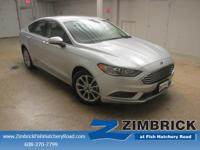 Options:  2017 Ford Fusion Se Fwd|4 Cylinder