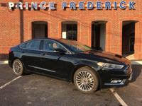2017 FORD FUSION SEDAN WITH ALL THE STYLE AND LUXURY!