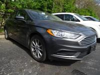 2017 Ford Fusion SE Gray FWD 2.5L iVCT 6-Speed