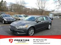 This fantastic 2017 Ford Fusion SE is just waiting to