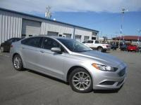 6-Speed Automatic.Ingot Silver 2017 Ford Fusion SE FWD