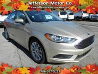 This 2017 Ford Fusion SE has extremely low mileage and