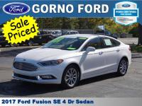 2017 FORD FUSION SE. HEATED FRONT SEATS,SE LUXURY