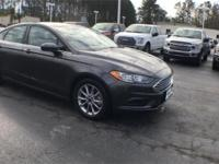2017 Ford Fusion SE Magnetic 2.5L iVCT FWD 6-Speed