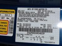 Recent Arrival! Lightning Blue 2017 Ford Fusion *