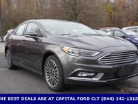 2017 Ford Fusion. 6-Speed Automatic. Happy-go-lucky