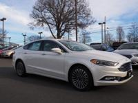 2017 Ford Fusion. 6-Speed Automatic. Inherits the road