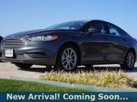 2017 Ford Fusion SE in Magnetic, This Fusion comes with