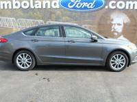 2017 Ford Fusion SE Magnetic 34/22 Highway/City MPG